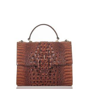 MEDIUM Francine Pecan Satchel price firm